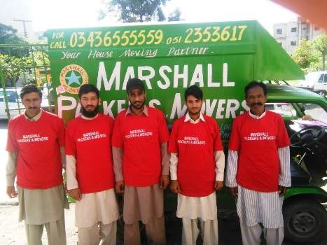 Marshall Packers & Movers in Rawalpindi Pakistan